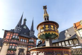 Centro de la ciudad de Wernigerode