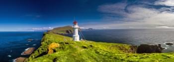 Leuchtturm auf den Färöer