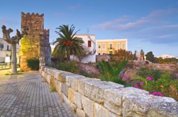 Ruinas de la muralla de Cos