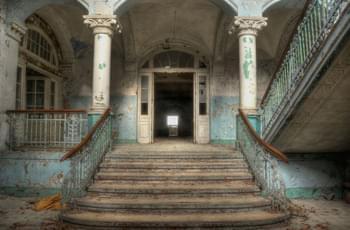 Blick in die Beelitz-Heilstätte