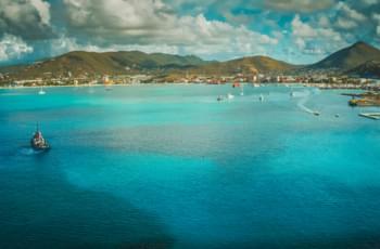 Blick über den Hafen von Nassau