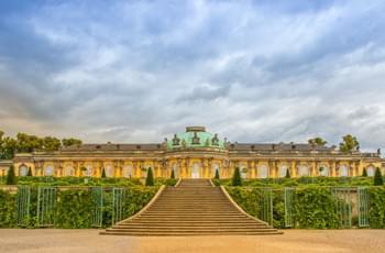 Schloss Sanssouci bei Potsdam