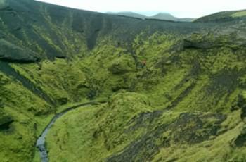 Landschaft Island