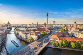 Berliner Sehenswürdigkeiten von oben