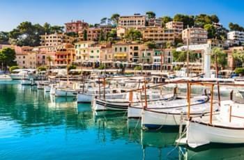 Port de Soller en Mallorca