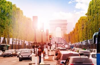 Conduciendo en Paris