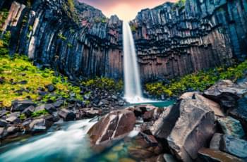 Wasserfälle auf Island