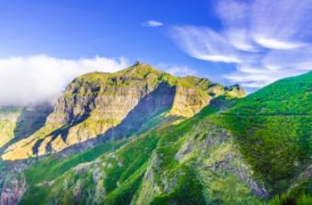 Wandern am Pico Grande auf Madeira
