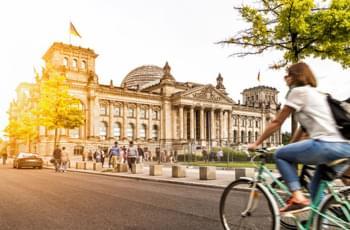 Mit dem Fahrrad zu Berlins Sehenswürdigkeiten