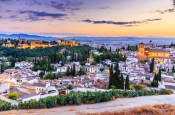 Mit dem Mietauto in Granada