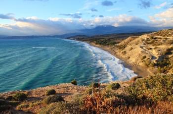 Matala Strand Kreta