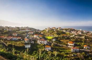 Küstenort Porto Moniz Madeira