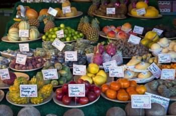 Exquisiteces en el Virtualienmarkt en Múnich