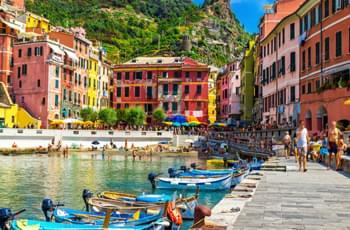 Das Städtchen Cinque Terre
