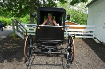 Außengelände Amish Farm USA