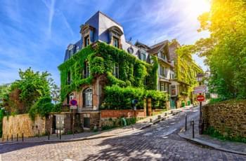 Das Künstlerviertel Montmartre in Paris