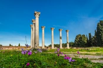 Ruinas en Asklepeion en Cos