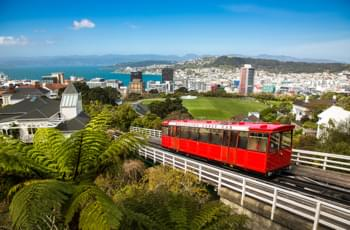 Wellington Cable Car Neuseeland