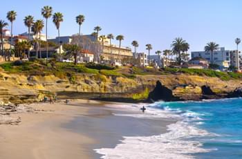 La Jolla Shores in San Diego Kalifornien