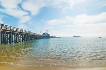 Pier in Santa Barbara Kalifornien