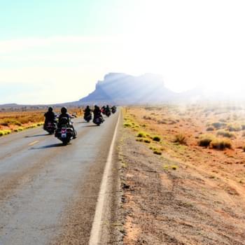 Mit dem Motorrad unterwegs - Die 5 besten Routen der USA
