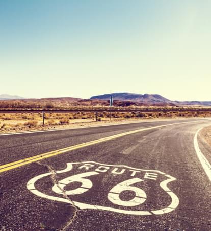 Immer Richtung Westen - Unterwegs auf der Route 66
