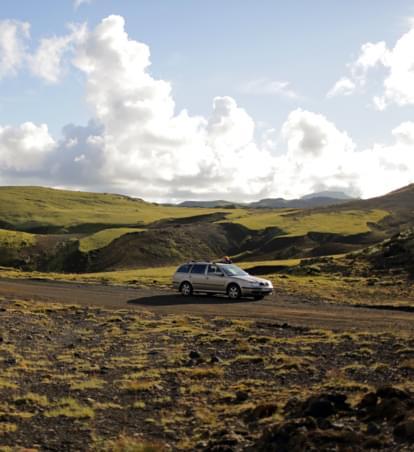 Märchenhaftes Island: Mit dem Mietwagen auf Film-Tour