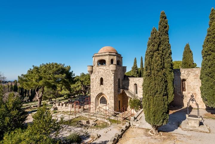 Kapel in Tsambica, Rhodos