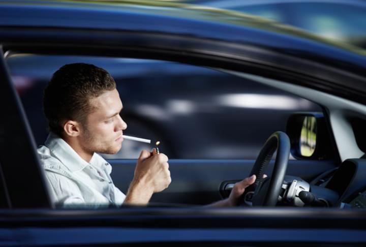 Rauchen im Mietwagen?