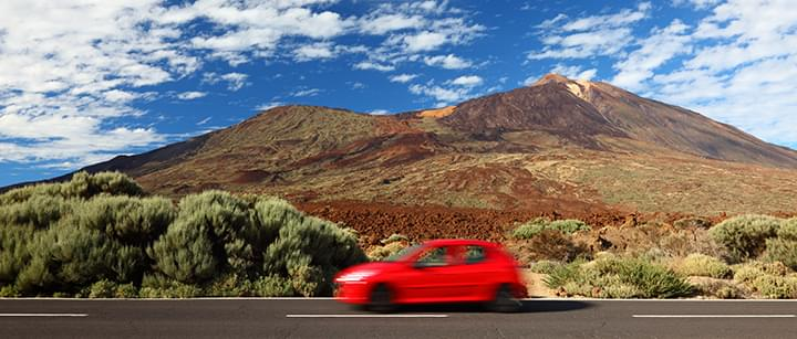 Travelling in Tenerife with a rental car