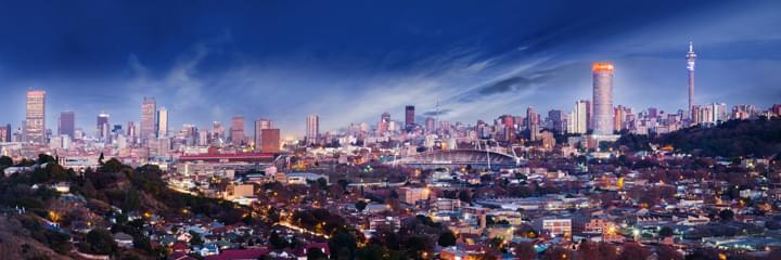 Vista de Johannesburgo