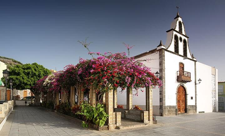 Kirche in der Altstadt von Tazacorte