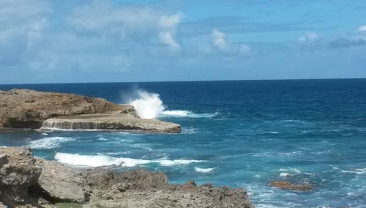 """Meer an der Bucht """"Port d'Enfer"""""""