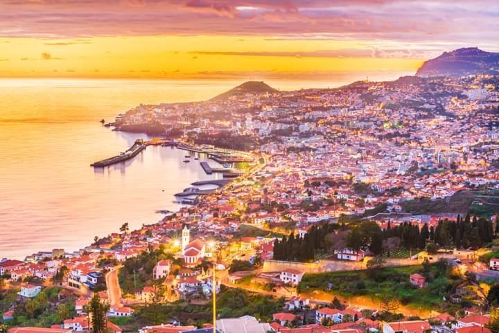 Vista de Funchal, Madeira