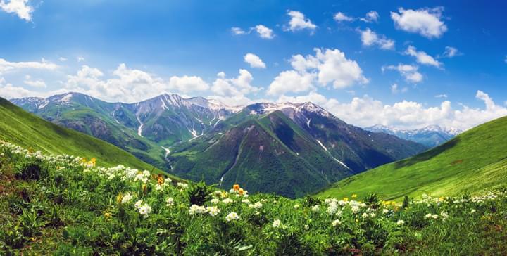 Discover beautiful landscapes in Georgia
