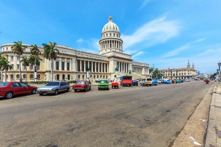 Carretera en Cuba