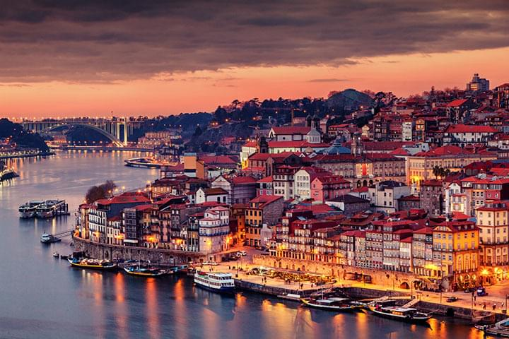 Explore Porto at sunset