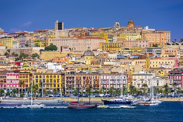 Vista de Cagliari
