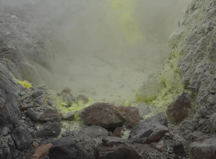 Vulkans auf Guadeloupe