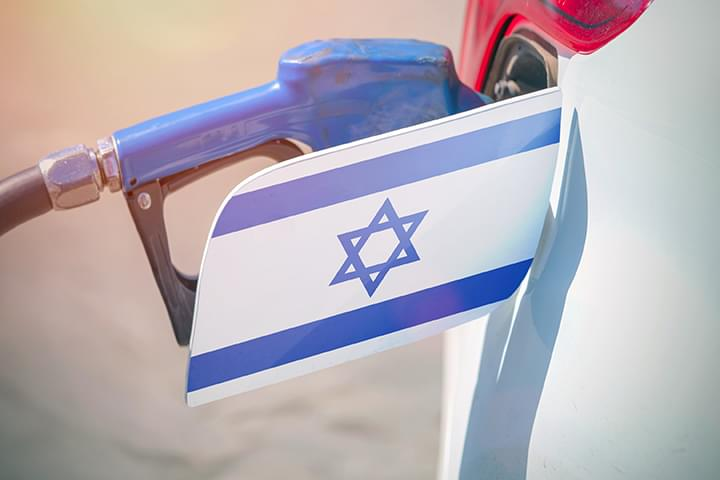 Tanken in Israel