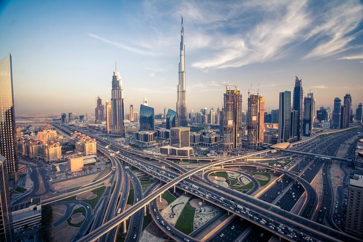 Autovía en Dubai