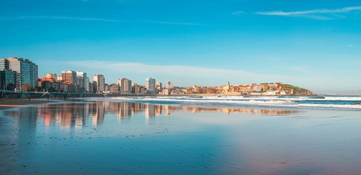Skyline Gijón, Asturias