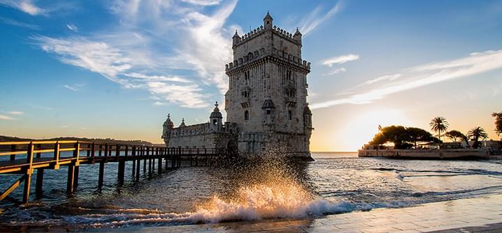 La Torre de Belém en Lisboa