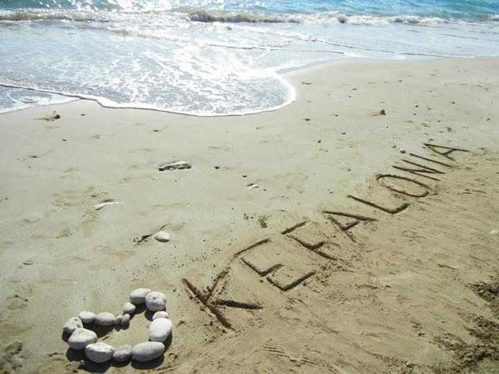 Strand auf Kefalonia