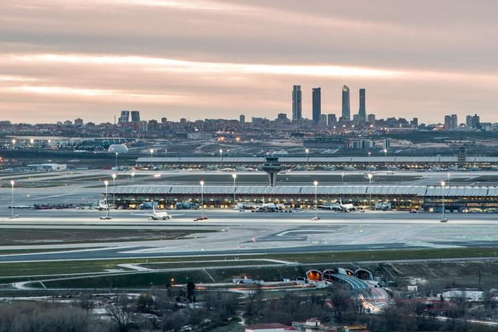 Aeropuerto de Barajas, Madrid