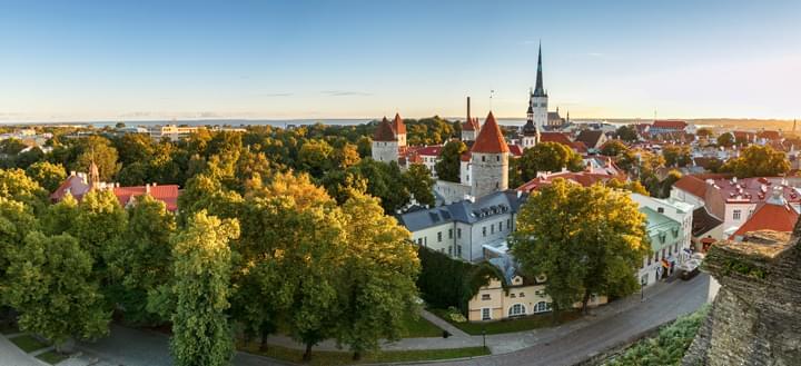 Skyline Tallinn, Estonia