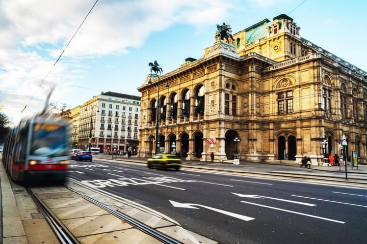 Strassenverkehr in Wien