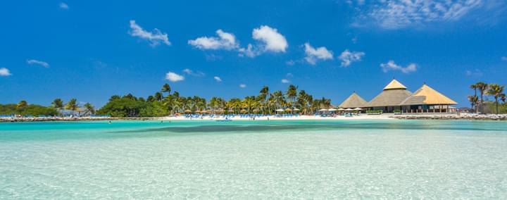 Plage sable fin Aruba