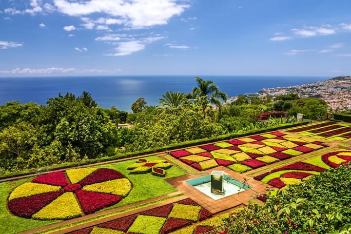 Jardín Botánico en Funchal