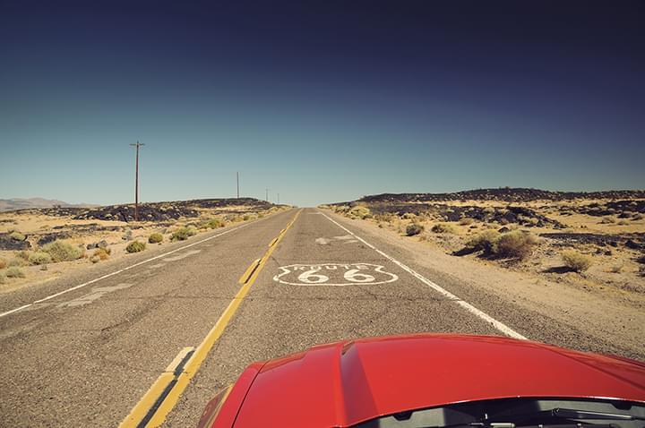 Ruta 66, Estados Unidos